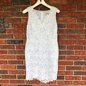 NWT Loft Lace Cut out Sleeveless Dress
